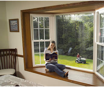 window - in text photo